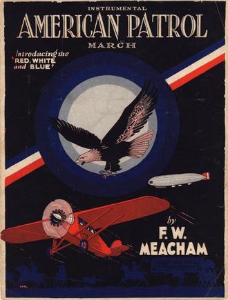 American Patrol - Late 1920s era sheet music cover.