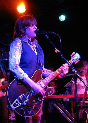 Amy Ray - Image: Amy Ray at The Saint in Asbury Park, NJ 04202012 2sm