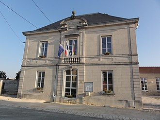 Ancemont - The town hall in Ancemont