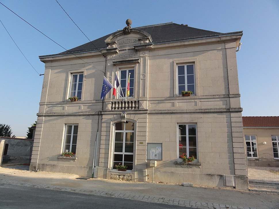 The town hall in Ancemont