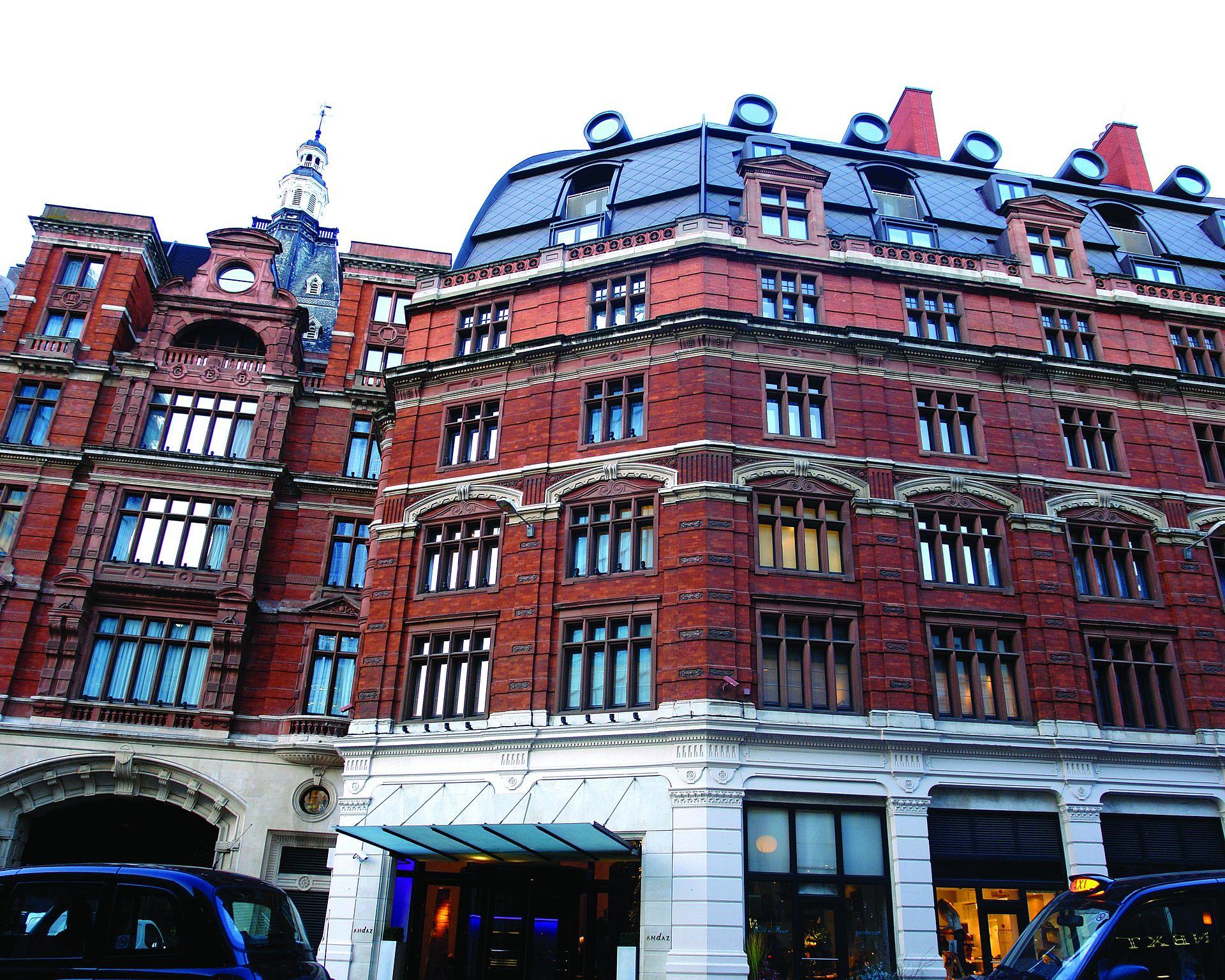 Andaz Hotel  Liverpool St London Ecm Qn