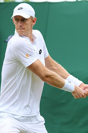 Kevin Anderson (tennis) - Anderson at the 2017 Wimbledon Championships