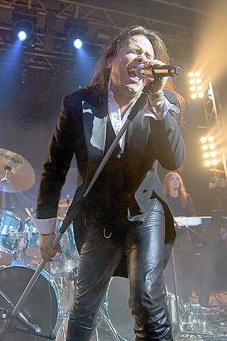 Angra (band) - Andre Matos, original vocalist of the band