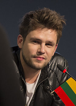 Andrius Pojavis, ESC2013 press conference 02 (crop).jpg