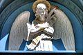 "Angel representing ""Worship"", Sage Chapel facade, Cornell Univ.jpg"