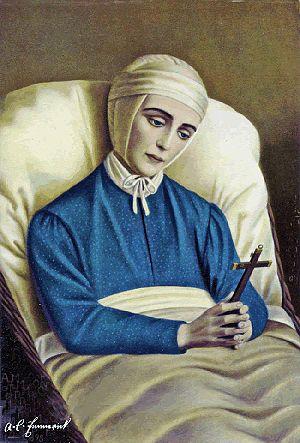 Anne Catherine Emmerich - Image: Anna Katharina Emmerick Saint Visionary