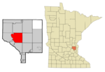 Anoka Cnty Minnesota Incorporated and Unincorporated areas Andover Highlighted copy.png