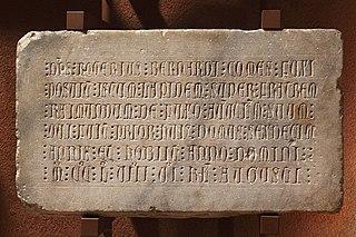 Épitaphe de Ramundus de Fuxo