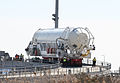Antares Pathfinder on ramp after hot fire tests (20130323).jpg