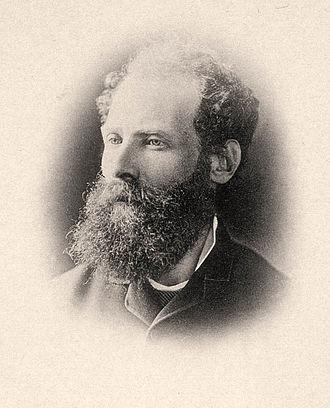 Antero de Quental - Photograph of Antero de Quental, c. 1887