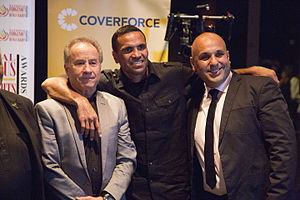 National Indigenous Human Rights Awards - Anthony Mundine (centre) at the National Indigenous Human Rights Awards, Sydney, 2015.
