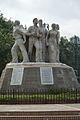 Anti Terrorism Raju Memorial - 1997 CE - Sculpture by Shaymal Chowdhury - University of Dhaka Campus - Dhaka 2015-05-31 1945.JPG