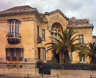 Miguel Ventura Terra - Valmor Mansion (Lisbon) by Ventura Terra (c. 1906).