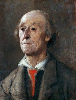 Anton Ažbe 1889 Bavarian man