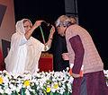 Anupam Sen receiving Ekushe padak 01.jpg
