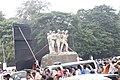 Aparajeyo Bangla statue, University of Dhaka, Bangladesh (17).jpg
