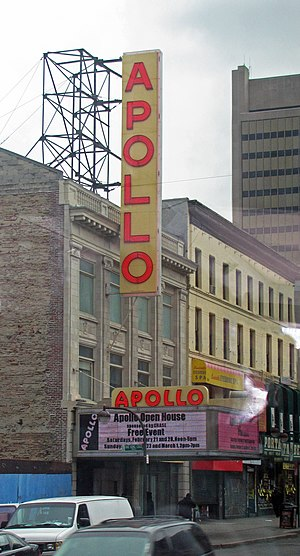 Apollo Theater - Image: Apollo Theater, Harlem (2009)