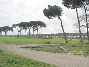 Aqua Claudia - Aqua Claudia in the Parco degli Acquedotti