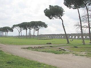 Aqua Claudia Roman aqueduct