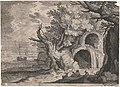 Aquaduct with Waterfall by Aegidius Sadeler after Roelant Savery Groeningemuseum 0000.GRO4415.III.jpg