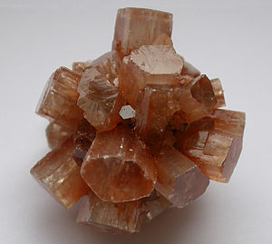 Mineralogy - Aragonite is an orthorhombic polymorph of calcite.