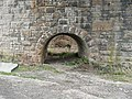 Arches in the viaduct piers, Sands Lane, Dewsbury - geograph.org.uk - 1244860.jpg