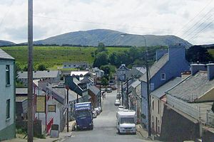 Ardara, County Donegal - Looking down south at Front Street in Ardara