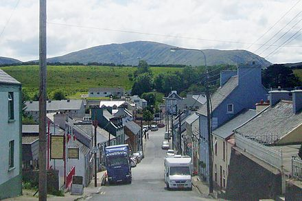 Looking down south at Front Street in Ardara
