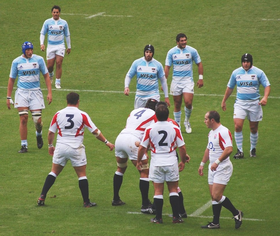 Argentina England rugby