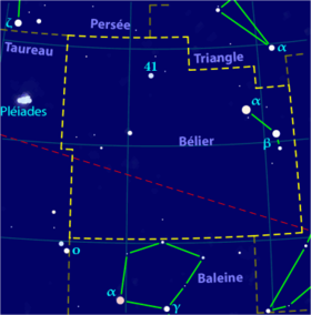 Image illustrative de l'article Bélier (constellation)