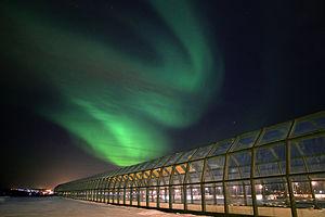 Arktikum Science Museum - Arktikum museo ja tiedekeskus, revontulet