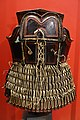 Armor, Yi people, Sichuan province, China, painted hide, wood, leather - Peabody Museum, Harvard University - DSC06035.jpg
