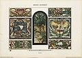 """Arnold Lyongrün, Motiv aus dem Vorlagenwerk """"Vorbilder für Kunstverglasungen im Style der Neuzeit, Verlag Hessling, Berlin und New York 1900.jpg"""