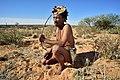 Arri Raats, Kalahari Khomani San Bushman, Boesmansrus camp, Northern Cape, South Africa (19919544304).jpg