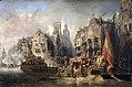 Arrivée du duc d'Albe à Rotterdam - Eugène Isabey.jpg
