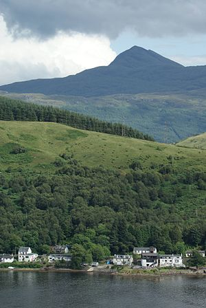 Arrochar, Argyll - Image: Arrochar 1