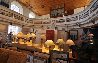 Port Isaac - A former Methodist chapel converted into a pottery and art gallery