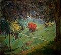 Arthur Timótheo da Costa, paisagem com arbusto vermelho, Rio de Janeiro, 1914, óleo sobre madeira, 28 x 30,9, Photo Gedley Belchior Braga.jpg