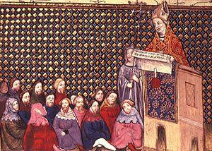 Thomas Arundel - Image: Arundel Preaching