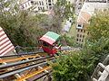 Ascensor El Peral, tipo funicular, año 1902, Valparaíso, Chile.jpg