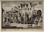 L assassinat d Henri IV, rue de la Ferronnerie à Paris
