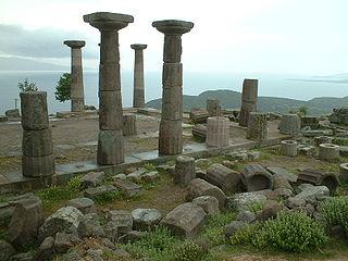 Ayvacık, Çanakkale District in Marmara, Turkey