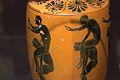 Athenian black-figure lekythos, 525-475 BC, youths, ephedrismos, AshmoleanM, 1890.27, 142579.jpg