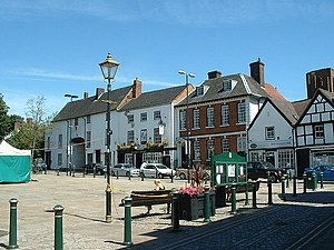Atherstone - Image: Atherstone Market Square