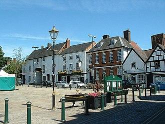 Atherstone - Image: Atherstone Market Square