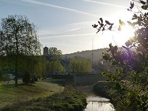 Athus - Image: Athus Parc et Messancy au matin (2)