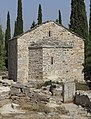 Attica 06-13 Hills of Hymettus 05 church ruins.jpg