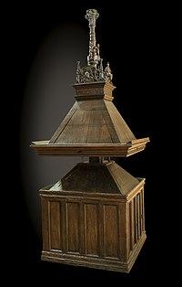 Auch Cathédrale Sainte-Marie - Lutrin 1530.jpg