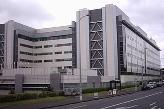Auckland City Hospital - The new 2003 section of the hospital