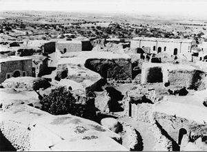Auja al-Hafir - Civilian village at Auja al Hafir. 1948